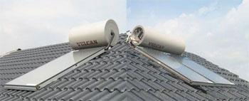 Máy nước nóng năng lượng mặt trời Vulcan - Rheem - Hệ Hiline