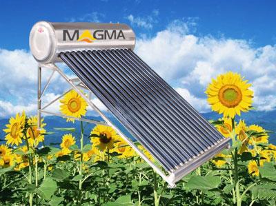 Máy nước nóng năng lượng mặt trời MAGMA. Model : MAT-150S